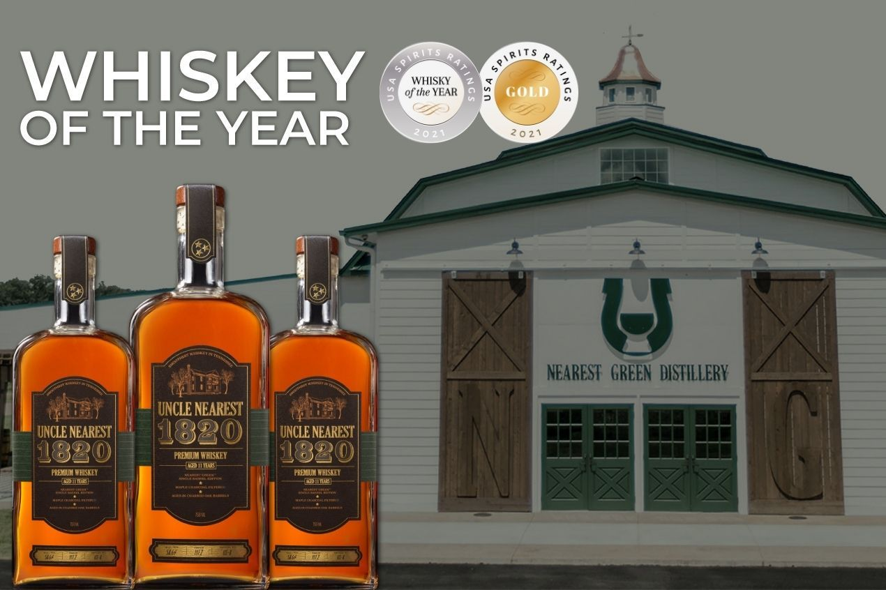 Photo for: Uncle Nearest 1820 Single Barrel Gets Best Whiskey Award