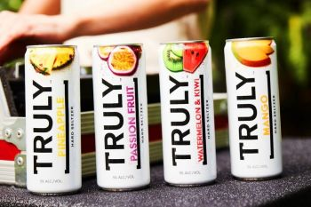 Photo for: Dua Lipa stars in new campaign for Truly Hard Seltzer