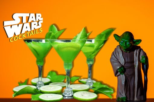 Photo for: Drink on the Dark Side with these Star Wars Cocktails