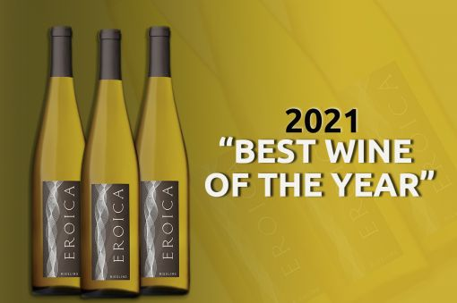 Photo for: 2019 Eroica Riesling is the World's Best Wine