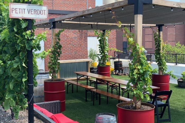 Photo for: Outside seating bars in New York city