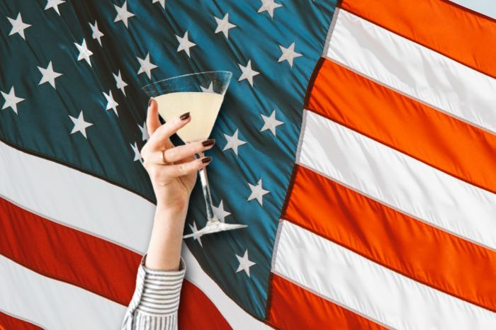 Photo for: Drink red, white, and blue this 4th of July