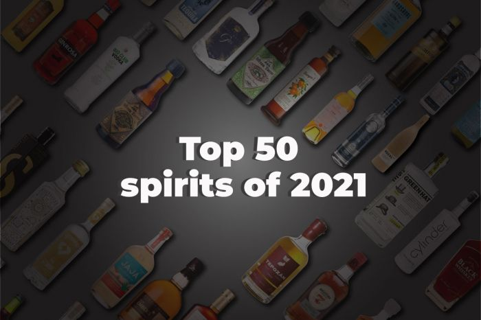 Photo for: The Top 50 Spirits in the World Today!