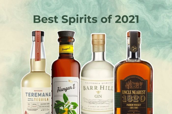 Photo for: The best spirits of 2021 recommended by bartenders