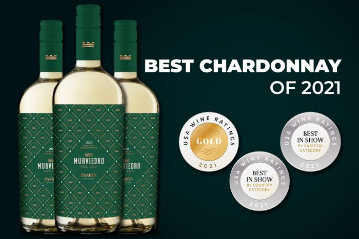 Photo for: Best Chardonnay of the Year goes to Murviedro Pasión White