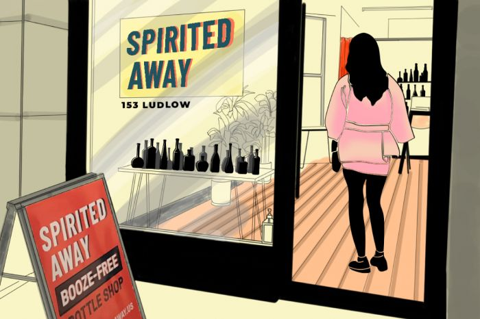Photo for: Meet Spirited Away: NYC's First non-alcoholic liquor store